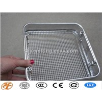 Corrosion Resistance Hospital Medical Disinfection Mesh Basket