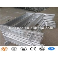 Galvanized,Powder Coated Square Pipe Horse Panel