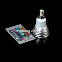 green environmental LED RGB spotlight bulb light