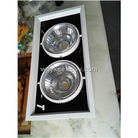 grille lamp two head