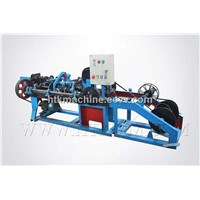high efficiency automatic barbed wire making machine
