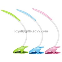 high-end colorful Portable Clip-on Flexible Table Lamp Desk Task Lamp Reading Book Light