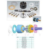 high quality Eaton 4631 hydraulic pump parts