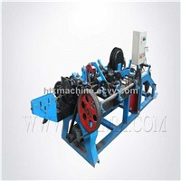 high speed automatic barbed wire making machine