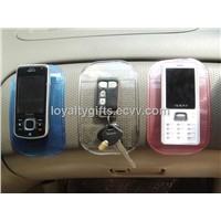 hot mobile phone non slip  mat with blister package and paper card