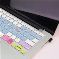 laptop silicone keyboard cover with function key for Macbook