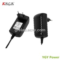 power adapter 12V1A with CE,KC,S-MARK
