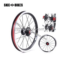 skc bicycle wheel folding bike wheel 14inch wheelset