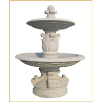 stone outdoor water fountain