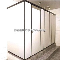 compact grade hpl toilet cubicle partition door