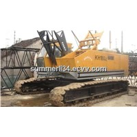 used 50T crawler crane Hitachi KH180-2,KH180-3