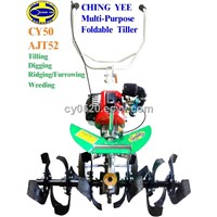 CY50 Multi-purpose Foldable Garden Tiller