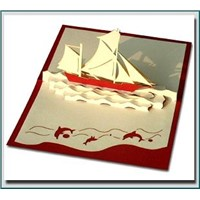 3D card  Pop Up Greeting Card