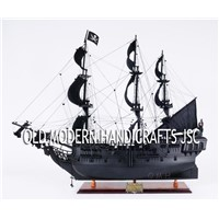 Black Pearl Pirate Ship Wooden Model Tall Ship