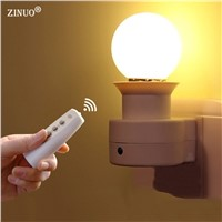 ZINUO 1W 3W 5W 7W 9W Novelty Led Night Lamp Wireless Remote Control Dimmable Night Light For Kids Children Desk Table Light 220V