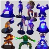 Dragon Ball Z Luminaria LED Nightlight Son Goku Black Vegeta Gohan Kamehameha Anime Dragon Ball Z Decorative Led Lighting
