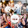 Selfie Light Photography Lighting Phone Camera Ring Light 3 Colors Adjustable Battery Light for iPhone 6/7s Plus, Galaxy,Huawei