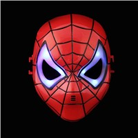 Hero alliance mask the United States captain iron man spider man ant green giant Qin Tianzhu warrior mask shield