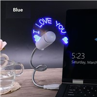 LumiParty New Durable Adjustable USB Gadget Mini Flexible LED Light  Fan  Programmable LED for PC Laptop Notebook
