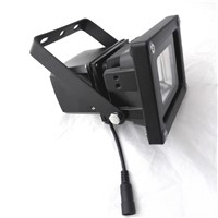 10W solar light with 2M cords switch  camping light with switch dimming  IP65  solar charging light  LED flood light