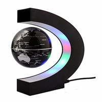 LED World Map Novelty C Shape Floating Globe Magnetic Levitation Light Birthday Home Dec Night lamp Antigravity Magic/Novel Lamp