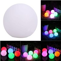 LED Gradient 7-Color Flash Luminous Ball Nightlight Home Room Party Decoration