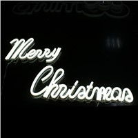 OEM NEON sign board,merry christmas lighting
