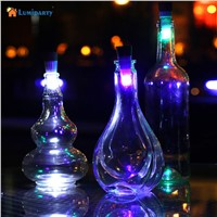Lumiparty Magic Cork Shaped Rechargeable Wine Bottle USB Night light cork stopper cap lamp creative romantic cork lights white