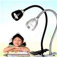 Hot USB Fan Flexible LED Light Desk Lamp With Clip for Laptop PC Computer Black Gadgets Low Power Consumption
