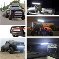 MYC 390W 480W 300W 5D LED Work Light Bar 12v Tractor Boat Off Road 4WD 4x4 Truck ATV LED Driving Headlight  Offroad Bar Lights