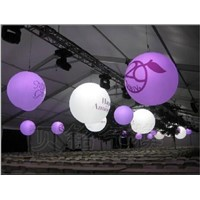 1.2mD inflatable Decoration Hang Ball, Lighting Ball ,can be do the size you want