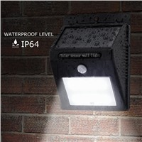Solar Lights, ESPOW Super Bright 16 LED Outdoor Motion Sensor Security Lighting with 3 Mode for Outdoor Garden Path Pool