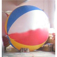 6.5FT Diameter Inflatable Beach Ball Helium Balloon for Advertisement in Colorful