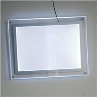 "4PCS Ultra Thin Crystal Frame LED Picture Backlit Light Boxes 24""x30"" Acrylic Photo Frames"