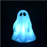 Novelty Halloween Party Decor Mini Ghost/Skeleton Night Lamp Night Light Children Bedroom Nursery Room