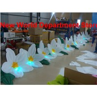 Wedding reception decorations inflatable flowers chain(12m)