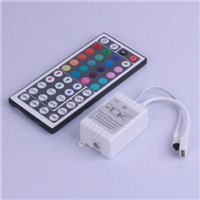 Low voltage 12 v LED lights with 24 key 44 key controller 5050 article 3528 RGB light colorful module controller