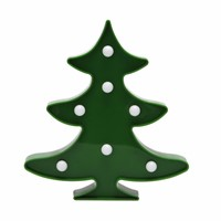 3D Christmas Tree Night Light LED Desk Night Lamp For Kids Gift Decoration Indoor Lighting