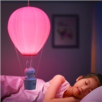 Jiaderui Novelty Dimmable Hot Air Balloon Lights LED Night Lights With Touch Switch USB Rechargeable Night Lamps for Kids Lights