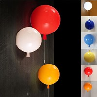 LumiParty Colorful Balloon Ceiling Lights Modern Style Restaurant A Living Room light Children Bedroom Lamp lamparas jk30