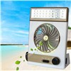 3 in 1 Multi-function Portable Mini Fan LED Table Lamp Flashlight Solar Light for Home Outdoor Camping --M25