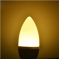E14 3W LED Candle Lamp Candle Lamp Low Carbon Life AC220-240V Energy Saving --M25