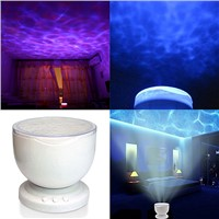 Room Party Night Decor Multicolor Ocean Wave Light Projector LED Night Light Lamp