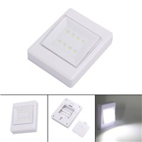 Mini 8Leds Night Light Wall Light Lamp Portable Led Energy Saving Lamp Light Baby Child Bedroom Night Lamp Sleep Light