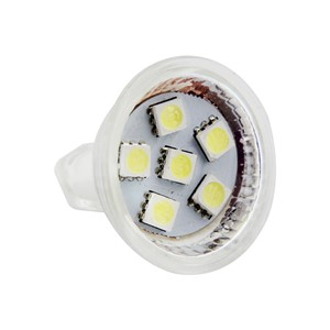 2pcs MR11 GU4.0 LED Bulbs Halogen Bulbs Equivalent GU4 Base AC/DC Warm White 3000K LED Light Bulbs 1.8W CLH