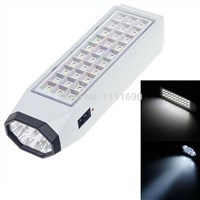 led Rechargeable Flashlight  Emergency Light Lamp Lantern LED White Light 2 Illumination Modes Rechargeable Emergency Lamp 220V