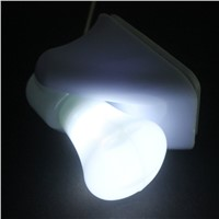 Wire LED Bulb Night Light Battery Self Adhesive Wall Portable Cabinet Lamp Night Light Mount House Decoration