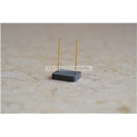 3pcs 2DU6 6x6mm Silicon Photocell Laser Receiver 400-1100nm w/ 2 pins