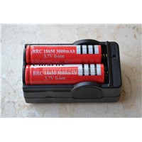 Double 18650 Lithium Battery Charger Universal Type 3.7V