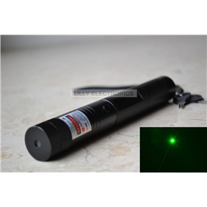 2 in 1 532nm 50mw Focusable Green Laser Pointer/Torch with Star Cap